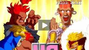 X-MAN Vs STREET FIGHTER (Fight 4)