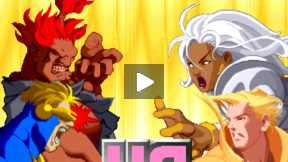 X-MAN Vs STREET FIGHTER (Fight 6)