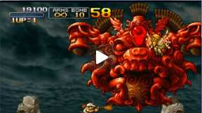 Walktrough Metal Slug 3: mission 4