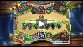 Playing Hearthstone Mage Vs Rouge