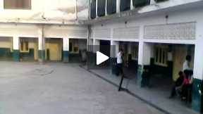 Students playing cricket Part 3