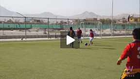 Esteqlal Female Football Team Training