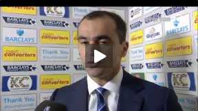 Martinez's Reaction on Hull win