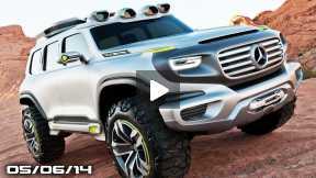 New Mercedes G-Wagon, Porsche Cayenne Coupe, Callaway C7 Corvette