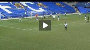 everton U18 vs spurs u18 Highlights