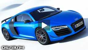 Audi R8 with Laser Lights, New Honda S2000, BMW Z2 Sportscar