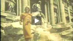 Archive Fashion Film 1964: Fashion Parade Modeled Amongst the Roman Tourist Sites