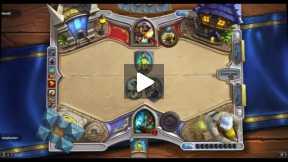 Playing Hearthstone Shaman Vs Paladin