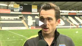 Baines interview after the end of the season game