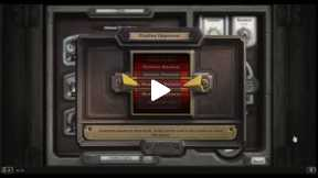 Playing Hearthstone Normal Match Warrior Vs Rouge