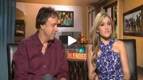 """BLENDED"" Interview with Kevin Nealon and Jessica Lowe"