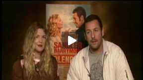 "My Fun Interview with Adam Sandler and Drew Barrymore for ""BLENDED"""