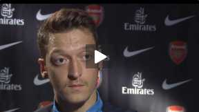 Ozil Exclusive interview before the Wembley