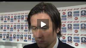 Rosicky Reaction after the FA Cup Final