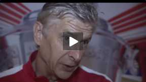 Wenger Reaction after the F.A Cup win