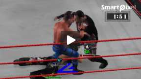 smack down 3 Great Triple Threat Match(part 2
