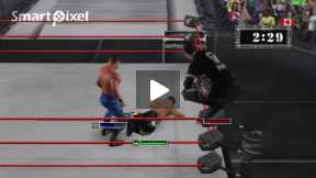 smack down 3 Great Triple Threat Match(part 3)