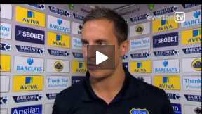 Jagielka reaction on Norwich game