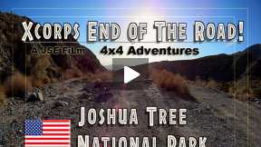 Xcorps 4X4 TV Presents Joshua Tree