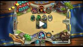 Playing Hearthstone With Mage Custom Deck