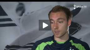 Eriksen's first year at Tottenham