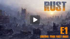 Rust - Survive Rust - Episode 1 - Your First Night