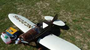 Culver dart 1939, flight in Ghisalba(Bergamo, Italy) 2014-05-15