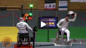 Warsaw 2014 Wheelchair - GOLD - Stanczuk POL v Makowski POL