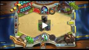 Playing Hearthstone Druid Vs Mage