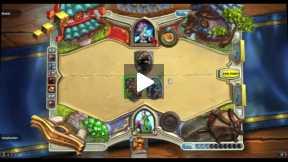 Playing Hearthstone Druid Vs Mage