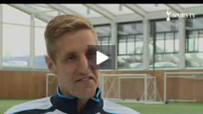 Dawson and Adebayor Speak with SpursTV