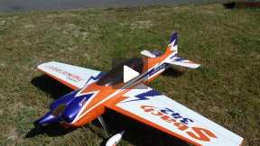 Sbach 342, 60cc Mintor, flight in Ghisalba(Bergamo, Italy) 2014-05-15