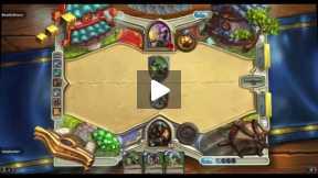 Playing Hearthstone Custom deck Hunter Vs Priest