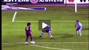 FC Barca legends -Ronaldinho(1 half)