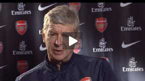 Wenger on Champions League 2013/2014