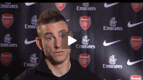 Koscielny on Season 2013/2014