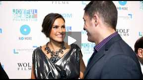 #InTheLab at Mariska Hargitay's Joyful Heart Foundation 10th Anniversary Joyful Revolution Gala