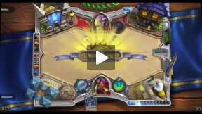 Playing Hearthstone Rouge Vs Priest Normal match