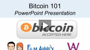 Bitcoin 101 - An Overview of #Bitcoin for the Film Annex and Women's Annex  #UseBitcoin communities