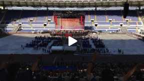Flash mob con Papa Francesco