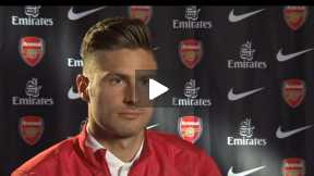Giroud Interview on World Cup