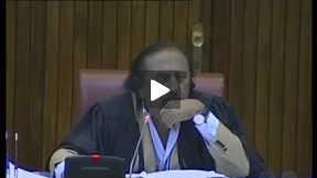 Faisal Raza Abidi Last Speech In Senate Before Resigning As Senator