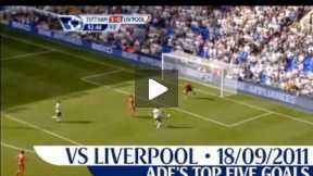 Adebayor's top 5 goals