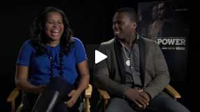 #InTheLab with Curtis '50 Cent' Jackson & Courtney Kemp Agboh of Starz's