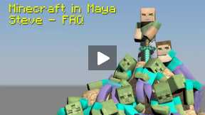 Minecraft - Maya - How to Build Your Character - FAQ