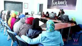 Social Media Training Classes in Malake Jalali High School, Herat, Afghanistan @womensannex