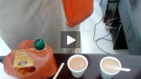 Tea Break in Office