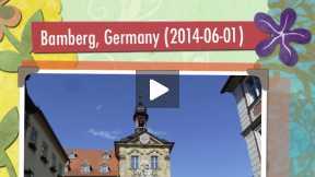 Photo slideshow - Bamberg, Germany