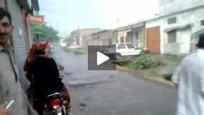 Thunder Storm in Haripur