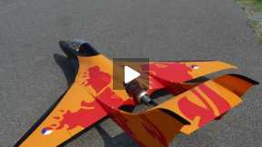 Velox XL, KingTech K-180G, flight in Ghisalba(Bergamo, Italy) 2014-06-21